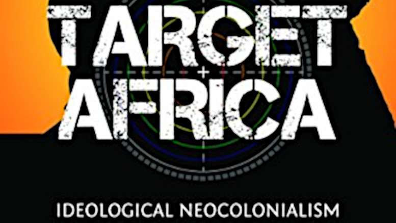 Book cover of Target Africa, by Obianuju Ekeocha